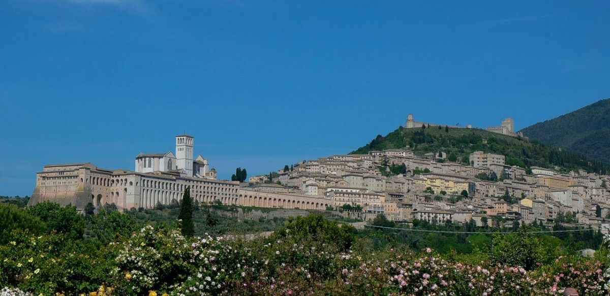 wine tour adventure - tuscany - assisi overview