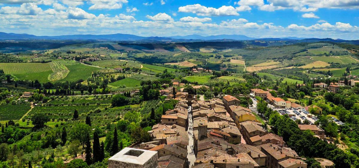 wine tour adventure - tuscany - san gimignano